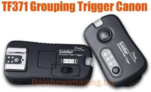 Conjunto Trigger Flash Pixel TF-371 Soldier Canon