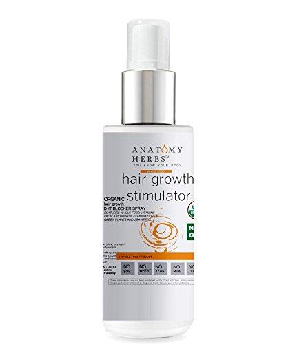 DHT Blocker Hair Growth Stimulator Spray - Testosterone Stimulator
