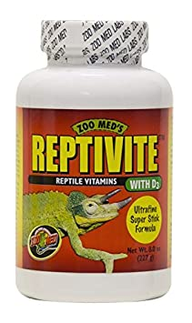 Zoo Med Reptivite, with Vitamin D3, 8-Ounce A368 REME-A368