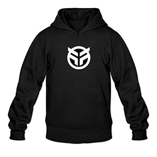 XIULUAN Men's Federal BMX Logo Hoodied Sweatshirt Size L ColorName