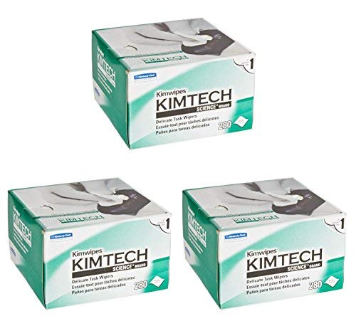 Kimberly-Clark Professional. Science KimWipes Delicate Task Wipers (Pack of 3) by Kimberly-Clark Professional