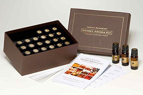 Aroma Academy - Whisky Aroma Kit - 24 Aroma Nose Training System by Aroma
