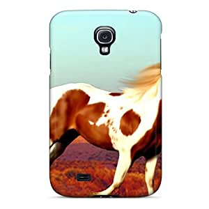 Galaxy S4 Painted Desert Print High Quality Tpu Gel Frame Case Cover