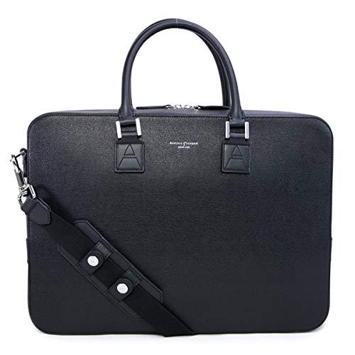 [アスピナル オブ ロンドン] バッグ メンズ ショルダー付き ビジネスバッグ ブリーフケース ブラック (011 1575 BLACK 14210000) [並行輸入品]   B07P1Q7PWZ