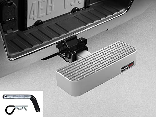 Best Price WeatherTech Billet BumpStep with Hitch Pin 8AHS2WHP1