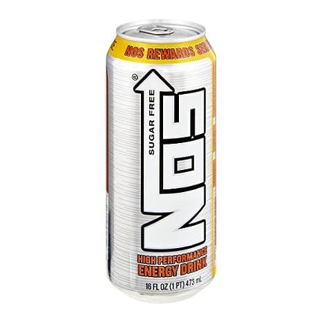 Amazon.com: 16 Pack – Nos Bebida Energética – Sugar Free ...