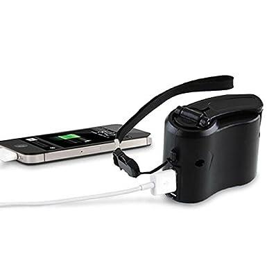 Amazon.com: Cewaal Mini dinamo de manivela de mano portátil ...
