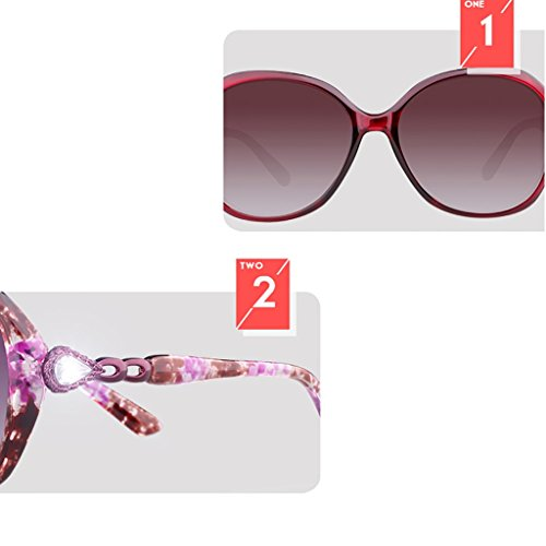 Soleil UV Soleil Shopping Conduite Protection Tourisme Lunettes Polarisées Lunettes Lunettes Chaude Miroir de Ultralight B Couleur Mode B YGyanjing Femelle de de wqFIO0F