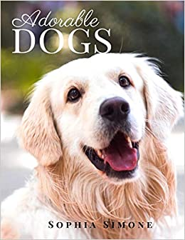 Adorable Dogs A Beautiful Nature Picture Book Photography Coffee Table Photobook Animal Guide Book With Photos Images Of Cute Puppies And Dogs Simone Sophia 9781701472297 Amazon Com Books