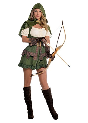 Sexy Robin Outfit (Robin Hoodie Costume - Medium - Dress Size 6-8)