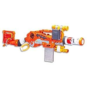 NERF Zombie Strike - Scravenger - Dual Blaster Survival Kit - Lever Action - 26 Elite Darts, Tactical Light & Scope - Kids Toys & Outdoor Games - Ages 8+