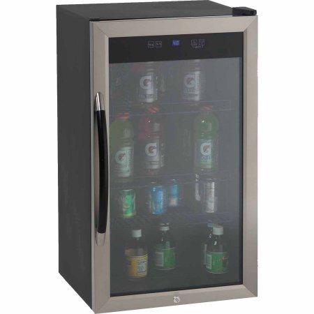 Avanti BCA306SSIS Beverage Cooler 3.1CF Glass Door - Sauces Bk