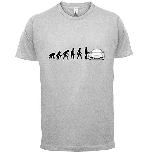 Evolution of Man - 911 Fahrer - Herren T-Shirt - Hellgrau - XXL