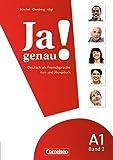 img - for JA Genau!: Kurs- Und Ubungsbuch MIT Losungen Und CD A1 Band 2 (German Edition) by Dagmar Giersberg, Sara H?i Claudia B?chel (2010-02-24) book / textbook / text book