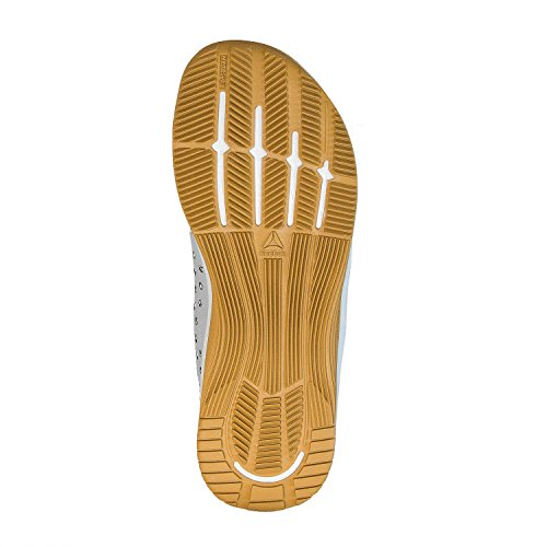 Reebok Vrouwen Crossfit Nano 7,0 Spoorschoen Wit / Groen / Messing / Grijs