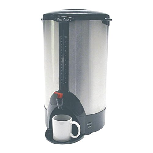 Classic Concepts SSU100 100 Cups Stainless Steel Coffee Urn