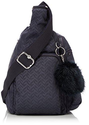 Bag Emb Night Gabbie Kipling Body Women��s Blue Cross Blue fIqq8Y
