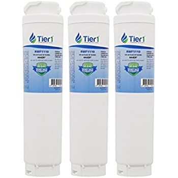 Tier1 Bosch REPLFLTR10 UltraClarity, 644845, 9000194412, 740570, 9000077095, 9000193914 Refrigerator Water Filter 3 Pack
