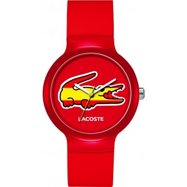 Lacoste 2020071 Watch Goa Unisex - Red Dial