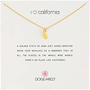 Amazon dogeared reminders i love california gold dipped image unavailable aloadofball Gallery