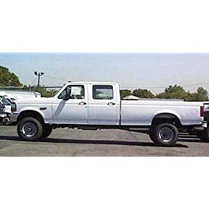 1997 f350 dually weight