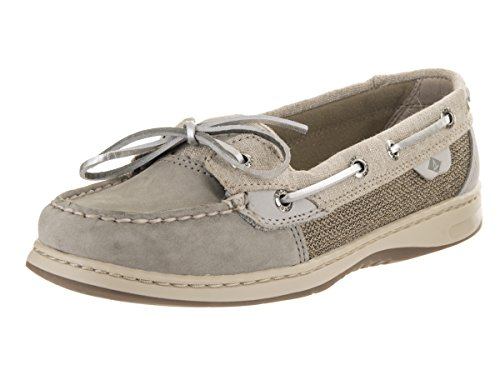 Sperry Women's Angelfish Sparkle Grey/Silver (Gray Angel Fish)