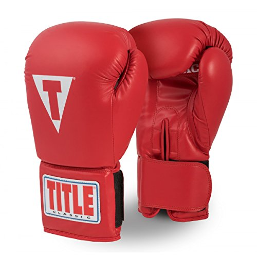 (TITLE Classic Super Bag Gloves 2.0, Red, Youth)