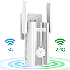 Highlights       Strong Signal-upgrade version 2019 wifi range extender say goodbye to weak wifi signal.Boost the range of your existing WiFi and create a stronger signal in hard-to-reach areas. Multi Operation Modes:supports wireless ...