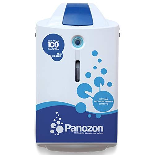 Ozonizador Panozon P+ 25 Para Piscinas Até 25.000 Litros Panozon Branco/azul
