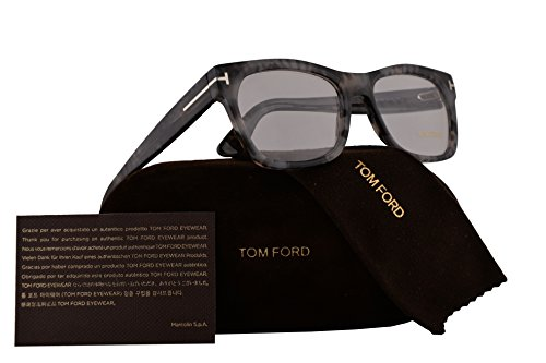 Tom Ford FT5468 Eyeglasses 55-18-145 Grey Havana w/Demo Clear Lens 056 TF5468 FT 5468 TF - Ford Tom Spectacle Frames