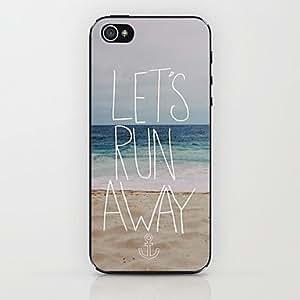 SJT Ocean Beach Pattern Hard Case for iPhone 4/4S