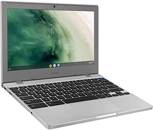 """2020 Newest Samsung Chromebook 4 11.6"""" Laptop Computer for Business Student, Intel Celeron N4000, 4GB RAM, 64GB Storage, up to 12.5 Hrs Battery Life, USB Type-C WiFi, Chrome OS, AllyFlex MousPad"""