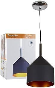 Lámpara Colgante, color Negro Tecnolite CTL-7432/N