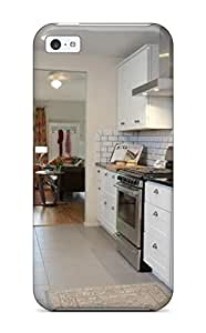 Hot Shock-dirt Proof Kitchen With Banquette And Storage Case Cover For Iphone 5c