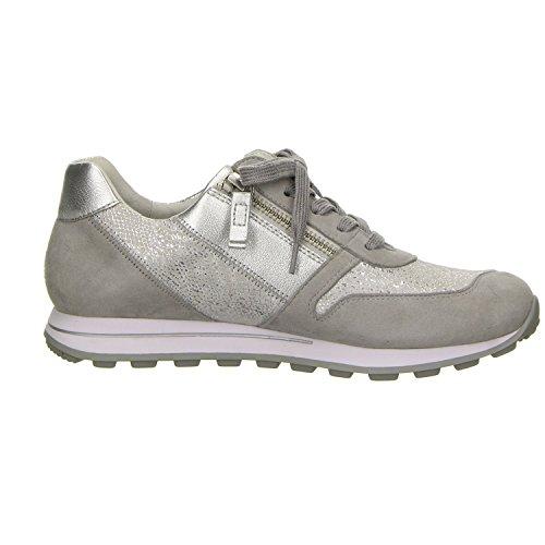 Gr grau Clair Grau 39 Hell Grau; Femmes Gris Comfort Gabor Confort Damen De Sneaker gris Gris; Taille Espadrille e xTvFn