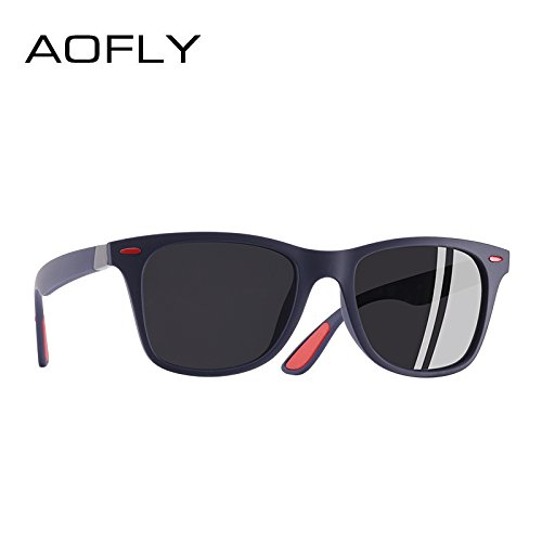 f324a34268 AOFLY BRAND DESIGN Classic Polarized Sunglasses Men Women Driving Square  Frame Sun Glasses Male Goggle UV400 Gafas De Sol AF8083  Amazon.co.uk   Clothing