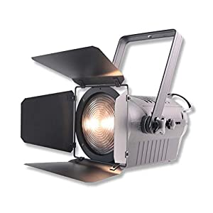 Flashandfocus.com 41VgmalIZyL._SS300_ V-Show LED Studio Fresnel Spotlight 200W - 3000K Warm White with Dimmable stage lights for church,Camera Photo Theater…