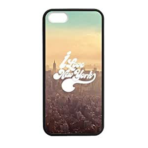 At-Baby New Case Custom I Love New York Pattern Iphone 5 5S Case (Laser Technology)