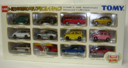 トミカ 30周年メモリアルコレクション(12台セット) 532675