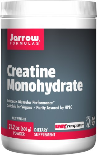 Jarrow Formulas Creatine Monohydrate Powder, Promotes Muscular Performance,  21.2 Ounce
