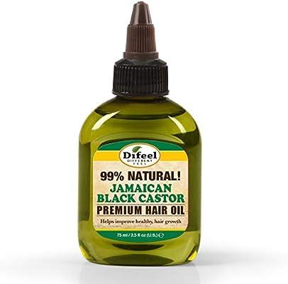 Difeel Aceite para el cabello premium 99% natural - Aceite de ...