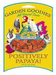 Sun Seed Company BSS33019 Garden Goodies Bird Treat, Positively Papaya, 5-Ounce