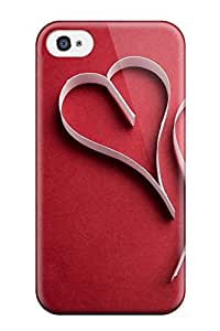 HBDlpDQ5981Ijweo ElsieJM Love Red Feeling Iphone 4/4s On Your Style Birthday Gift Cover Case
