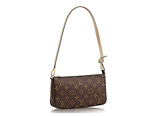 LV Monogram Canvas Shoulder Bag Clutch Handbag Pochette Accessoreis NM Article: - Canvas Pochette Monogram