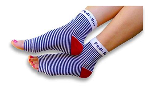 Original Pedi-Sox brand Toeless Socks for Pedicures : California Weight : American Cruise
