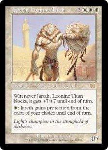 Jareth, Leonine Titan (Magic the Gathering : Onslaught #43 Rare)
