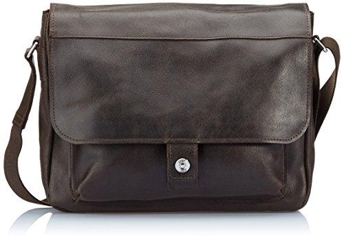 Jost 2571 Hunter 2571-003, Unisex - Erwachsene Messengertasche, Braun (Brown) Brown