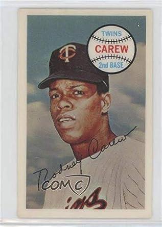 Amazoncom Rod Carew Baseball Card 1970 Kelloggs 3 D Super Stars