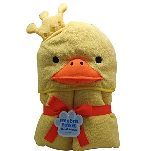 Towel Treat Yellow Duck Hooded Towel for Baby and Toddlers- Extra Large 30