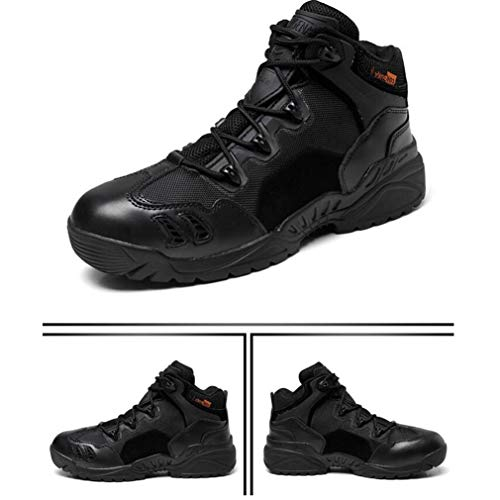 inverno Autunno Trekking Scarpe Casual donna Militari Sneakers Hy Combattimento Uomo Esterno Lacci Pelle Stivali Lavoro In Senza C Da vfppqPwz